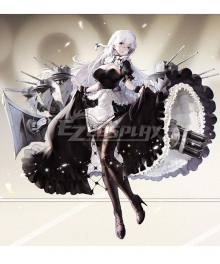 Azur Lane HMS Hermione Maid Cosplay Costume