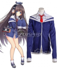 Azur Lane Long Island Cosplay Costume