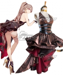 Azur Lane MNF Jean Bart Party Dress Cosplay Costume