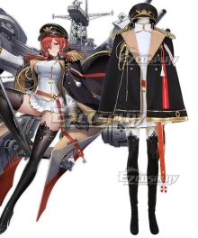 Azur Lane Monarch Cosplay Costume