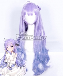 Azur Lane Unicorn Purple Cosplay Wig