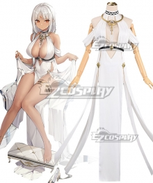 Azur Lane USS Massachusetts Dressed to Impress Cosplay Costume