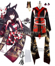Azur Lane Yamashiro Cosplay Costume