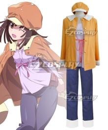 Bakemonogatari Nadeko Sengoku Cosplay Costume - New Edition
