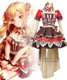 BanG Dream ! Poppin' Party A Heart-Pounding Moment Ichigaya Arisa Cosplay Costume