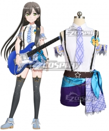 BanG Dream! Poppin' Party Hanazono Tae Cosplay Costume