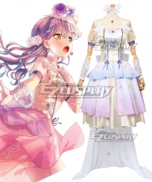BanG Dream! Roselia Bouquet For My Friends Minato Yukina Cosplay Costume