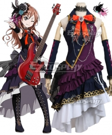 BanG Dream! Roselia Imai Lisa BLACK SHOUT Cosplay Costume