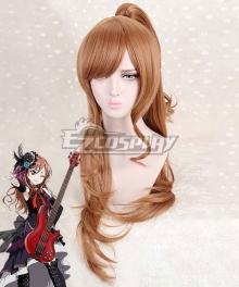 BanG Dream! Roselia Imai Lisa Orange Cosplay Wig