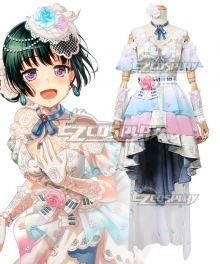 BanG Dream! Roselia Me And My Piano Shirokane Rinko Cosplay Costume