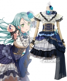 BanG Dream! Roselia Noble・Rose Hikawa Sayo Cosplay Costume
