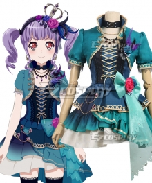 BanG Dream! Roselia Opera Of The Wasteland Udagawa Ako Cosplay Costume