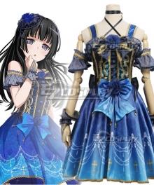 BanG Dream! Roselia Slight worry Shirokane Rinko Cosplay Costume
