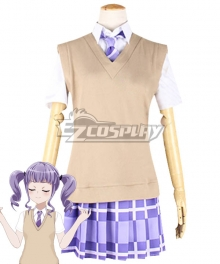 BanG Dream! Udagawa Ako Summer Uniform Cosplay Costume