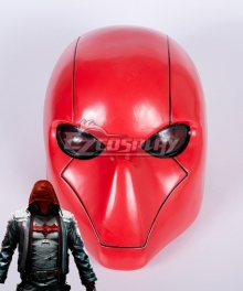 Batman: Arkham City Red Hood Halloween Helmet Cosplay Accessory Prop