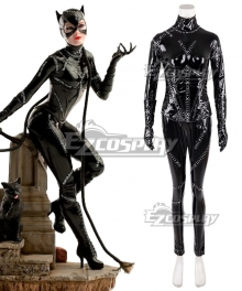 Batman Returns 1992 Superhero Movie Selina Kyle Catwoman Cosplay Costume