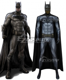 DC Batman v Superman: Dawn of Justice Batman Bruce Wayne Zentai Jumpsuit Cosplay Costume