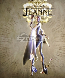 Bayonetta True Jeanne Cosplay Costume