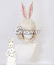 Beastars Haru Light Golden Cosplay Wig