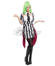 Beetlejuice Bishoujo Betelgeuse Female Halloween Cosplay Costume