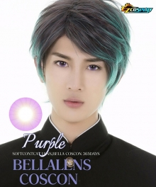 Bella Eye Coscon Clear Lens Kyoka Jiro Pannacotta Fugo Purple Cosplay Contact Lense