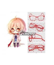 Beyond the Boundary  Kyokai no Kanata Kuriyama Mirai Cosplay Glasses
