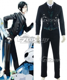 Black Butler Black Label Pop Up Store Sebastian Michaelis Cosplay Costume