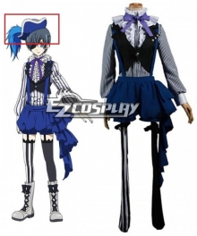 Black Butler Book Of Circus Ciel Phantomhive Hat Cosplay Accessory Prop