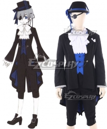 Black Butler Ciel Phantomhive Birthday Outfits Cosplay Costume