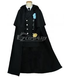 Black Butler Ciel Phantomhive Funeral Canonicals Cosplay Costume