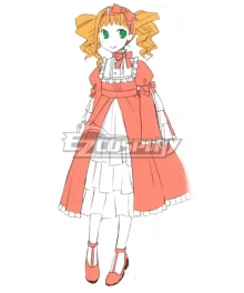 Black Butler Kuroshitsuji Little Elizabeth Midford Lolita Dress Cosp1ay Costume