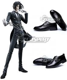 Black Butler Sebastian Michaelis Black Cosplay Shoes