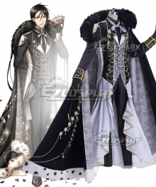 Yume 100 Sleeping Princes & the Kingdom of Dreams Black Butler Sebastian Michaelis Cosplay Costume