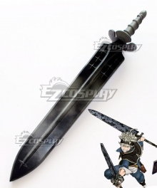 Black Clover Asta Short Sword Cosplay Weapon Prop
