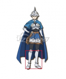 Black Clover Charlotte Roselei  Silver Shoes Cosplay Boots