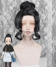 Black Clover Charmy Pappitson Black Cosplay Wig