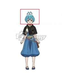 Black Clover Grey Blue Cosplay Wig