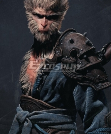 Black Myth Wukong Sun Wukong Blue Cosplay Costume