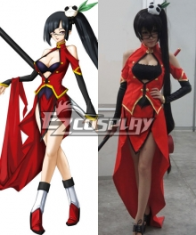 BlazBlue Calamity Trigger Litchi Faye Ling Cosplay Costume