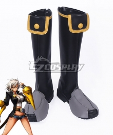 Blazblue: Chronophantasma Bullet Black Shoes Cosplay Boots