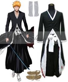 Bleach Kurosaki Ichigo Bankai Cosplay Costume