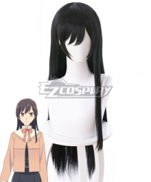 Bloom Into You Yagate Kimi ni Naru Touko Nanami Black Cosplay Wig - 475B
