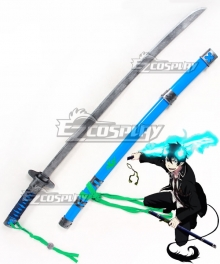 Blue Exorcist Ao no Exorcist Rin Okumura Sword and Sheath Cosplay Weapon Prop
