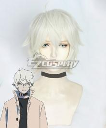 BNA Brand New Animal Shirou Ogami White Cosplay Wig