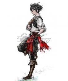Bravely Default 2 Sailor Seth Cosplay Costume