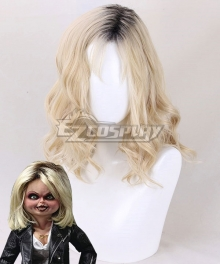 Bride of Chucky Tiffan Golden Cosplay Wig