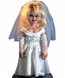 Bride of Chucky Tiffany White Cosplay Costume