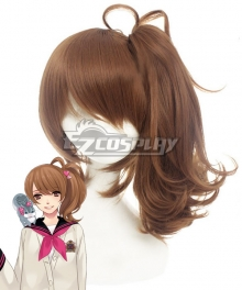 Brother Conflict Asahina Ema Brown Cosplay Wig