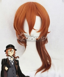 Bungou Stray Dogs Chuya Nakahara Brown Cosplay Wig