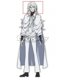 Bungou Stray Dogs Dead Apple Tatsuhiko Shibusawa White Cosplay Wig